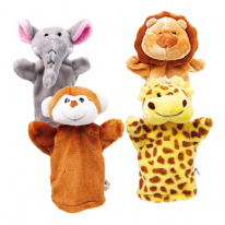 Assorted Pack of 4 Puppets